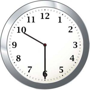 10.30am clock